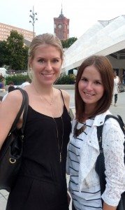 Susanne Grzeschik and Anika Kunz in Berlin