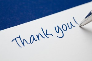 Take a Moment to Say Thanks to Your Mentors