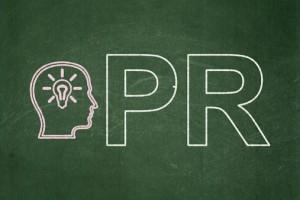 PR blackboard