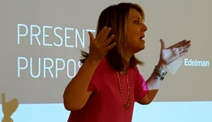 Mary Gannon: Smile, Use Your Hands, Be Expressive