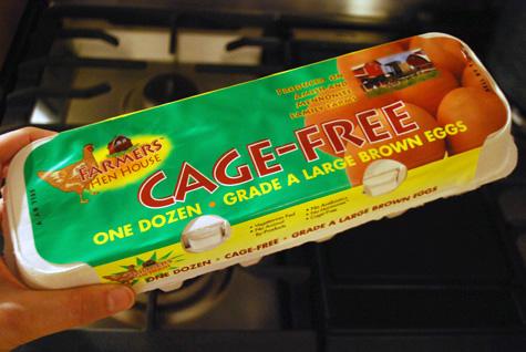 Cage Free carton
