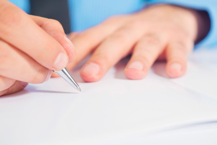 Writing tips, hands