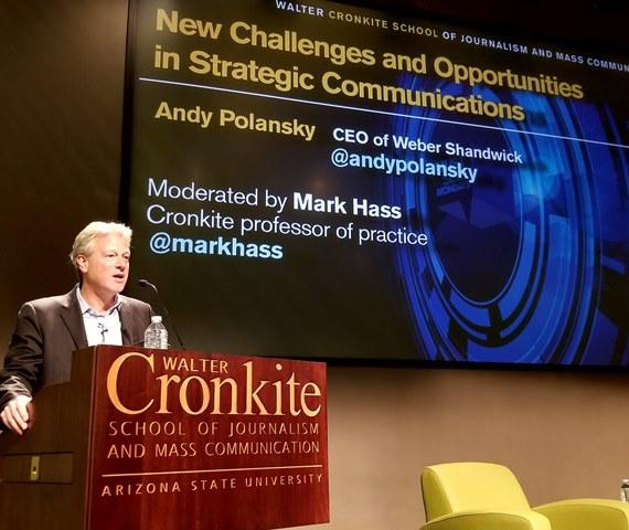 Andy Polansky at ASU2
