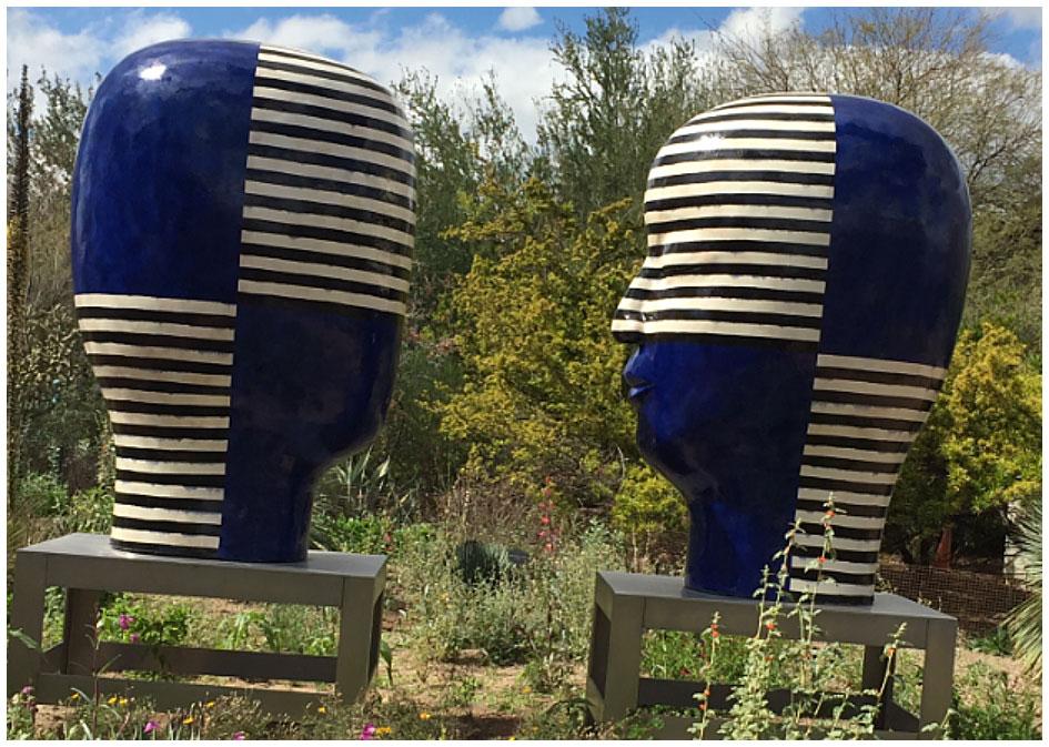 Kathy Baughman blog art, Phoenix Desert Museum