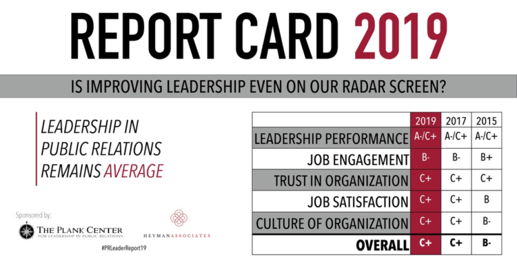 Report Card Gives PR Leaders a C+