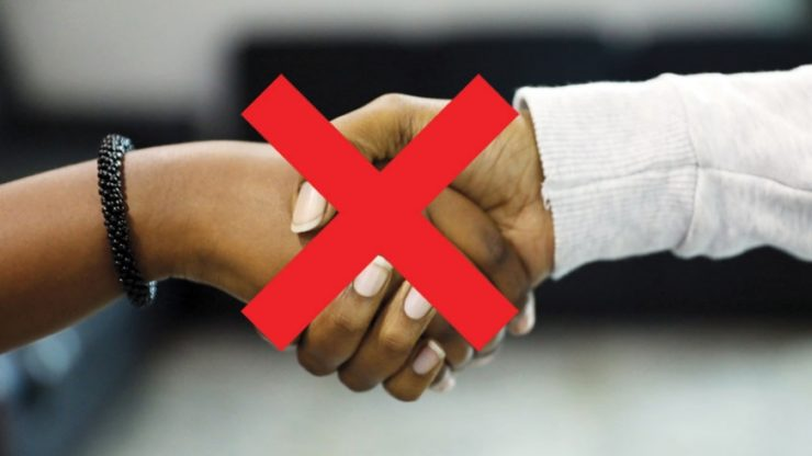 The Death of Handshaking: What's a PR Person to Do?