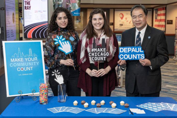 DePaul Students Promote Census, Win Bateman Award