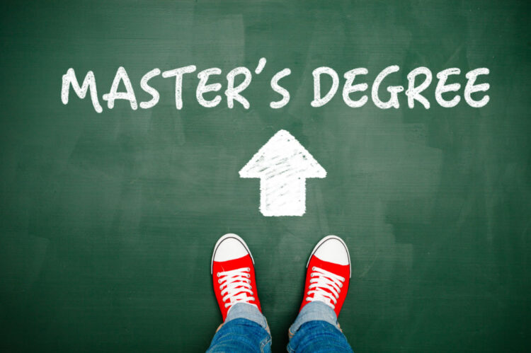 Get a Job or Get a Master's Degree? Or Both?