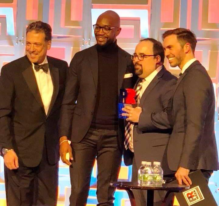 Career Highlight: DePaul Wins 'Oscar of PR'
