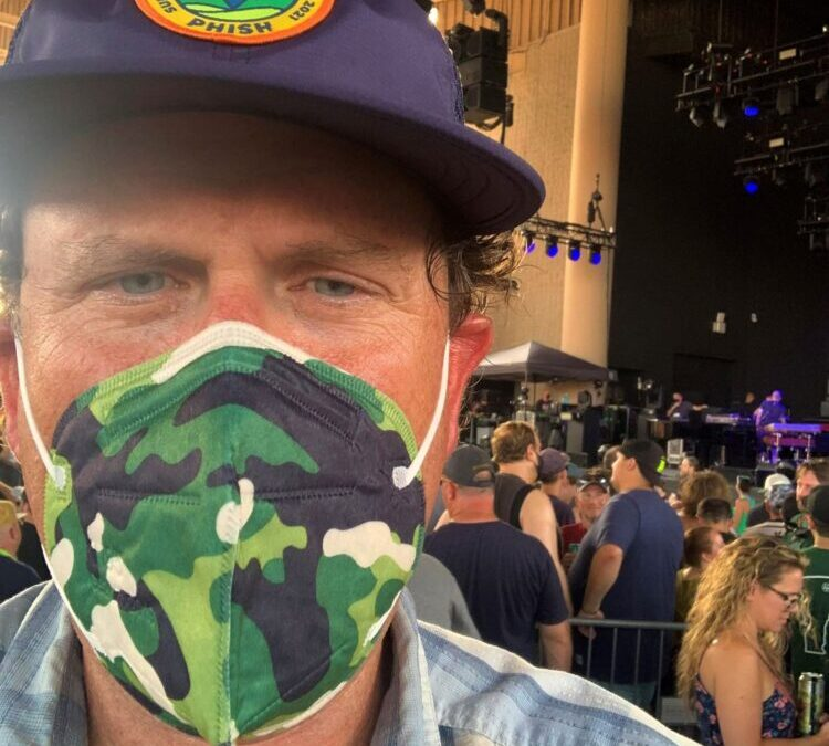 Phish Fan Makes Case for Vaccine and Masks